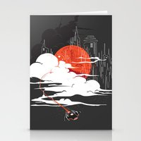 uncharted Stationery Cards featuring Uncharted Voyage by Marco Angeles