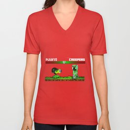 plant warfare Unisex V-Neck