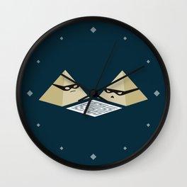 Pyramid Scheme Wall Clock