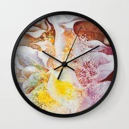 Petal Mural Wall Clock