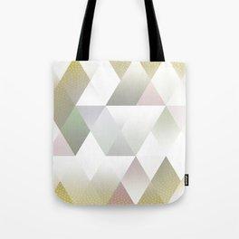 Silver Triangels N.1 Tote Bag