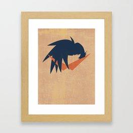 Minimalist Kamina Framed Art Print