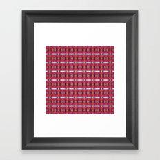 pttrn23 Framed Art Print