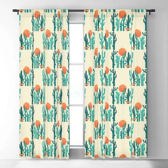 Desert fox Blackout Curtain