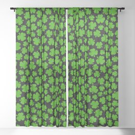 Shamrockadelic II Sheer Curtain