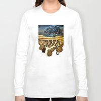 geology Long Sleeve T-shirts featuring Sleep At Last by Patricia Howitt