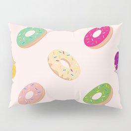 Donuts Pattern | Pastel Pink Pillow Sham