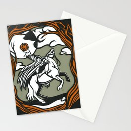 The Headless Horseman Illustration Stationery Cards