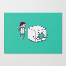 Secret Habit Canvas Print