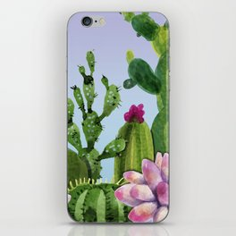 Cactus & Succulents iPhone Skin