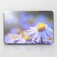 biology iPad Cases featuring Blue Aster in LOVE I by UtArt