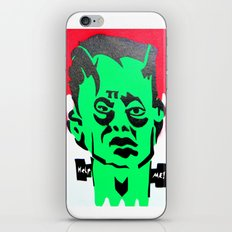 Help me franky! iPhone & iPod Skin