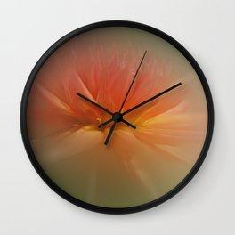 Dream Dahlia Wall Clock