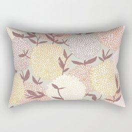 Pastel flowers Rectangular Pillow