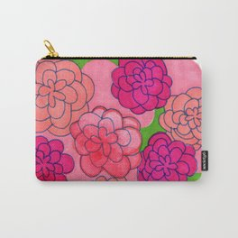 Flower Push 2 Carry-All Pouch