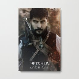Witcher Metal Print