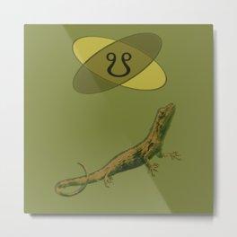 Ketu Lizard Metal Print