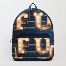 Fun Fun Fun -  Wall-Art for Hotel-Rooms Backpack