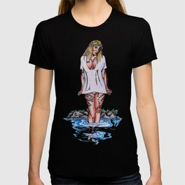 weirdling flower child T-shirt