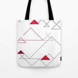 Tree-Angle Tote Bag