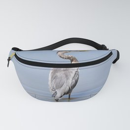 Great Blue Heron Fishing - I Fanny Pack