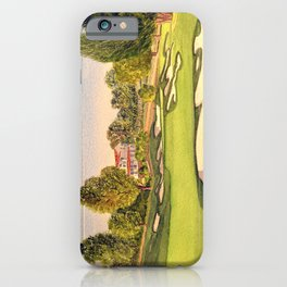 Pasatiempo Golf Course Hole 3 Santa Cruz iPhone Case