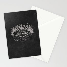 Sin City (Black) Stationery Cards