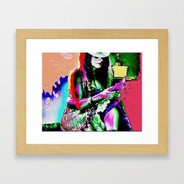 Handygirl Framed Art Print