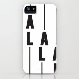 LA Los Angeles iPhone Case