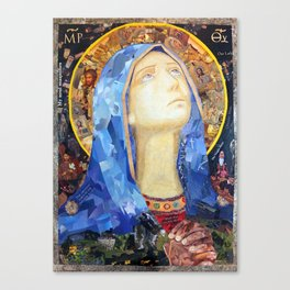Our Lady of Broken Pieces Canvas Print