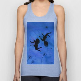 Free As The Wind Unisex Tank Top