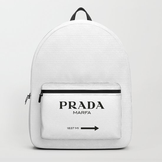 PradaMarfa sign Backpack