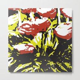 Abstract Pattern 4 Metal Print