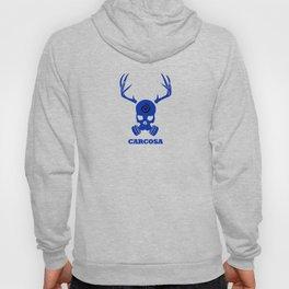 Carcosa Gas Mask Blue Hoody