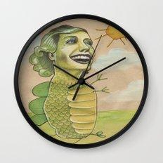 SUNSHINE DINO Wall Clock