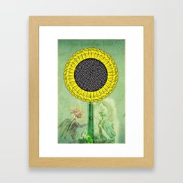 Sow Your Own Seed Framed Art Print