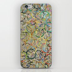 Rainbow Circles Collage iPhone & iPod Skin