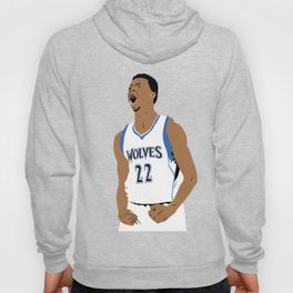 "Andrew Wiggins ""Follow The Pack"" Vector Illustration Hoody"