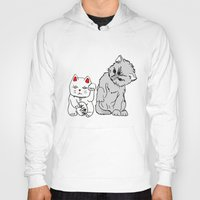 kittens Hoodies featuring Kittens by Larice Barbosa