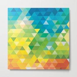 Triangle landscape Metal Print