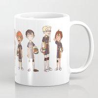 haikyuu Mugs featuring haikyuu!! by c.j.
