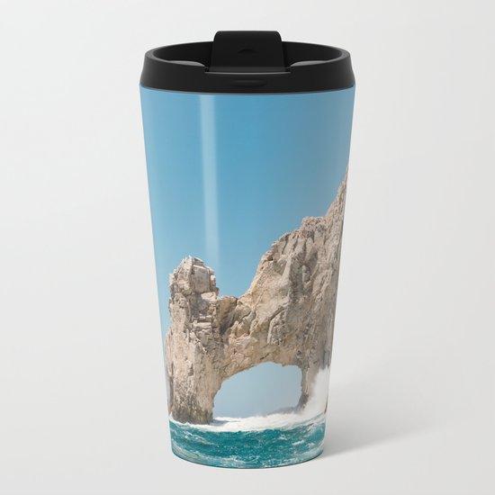 Arch of Cabo San Lucas Metal Travel Mug