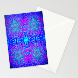 Bright Cool Stars Stationery Cards