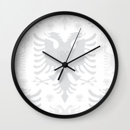 Eagles / Paterns / Creation / Composition VI Wall Clock