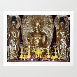 Chinese gods Art Print