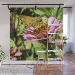 Not A Moth But A Small Skipper Butterfly Wall Mural