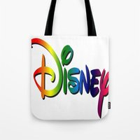cartoon Tote Bags featuring CARTOON by Acus
