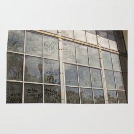 Window Art Work Rug