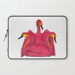 Tulip Swans Laptop Sleeve