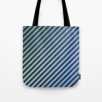 stripes Tote Bags featuring Stripes by David Zydd